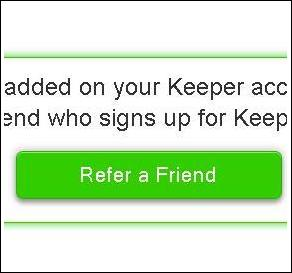 Tell Your Friends: The New Keeper Referral Program