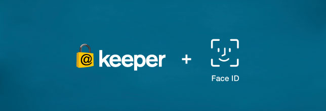 Use Apple's Facial Recognition to Log into Keeper Password Manager