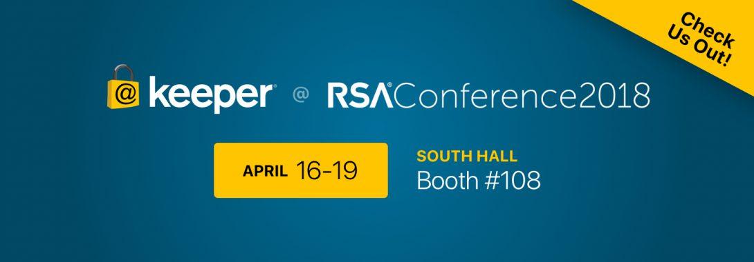 Join us at RSA 2018