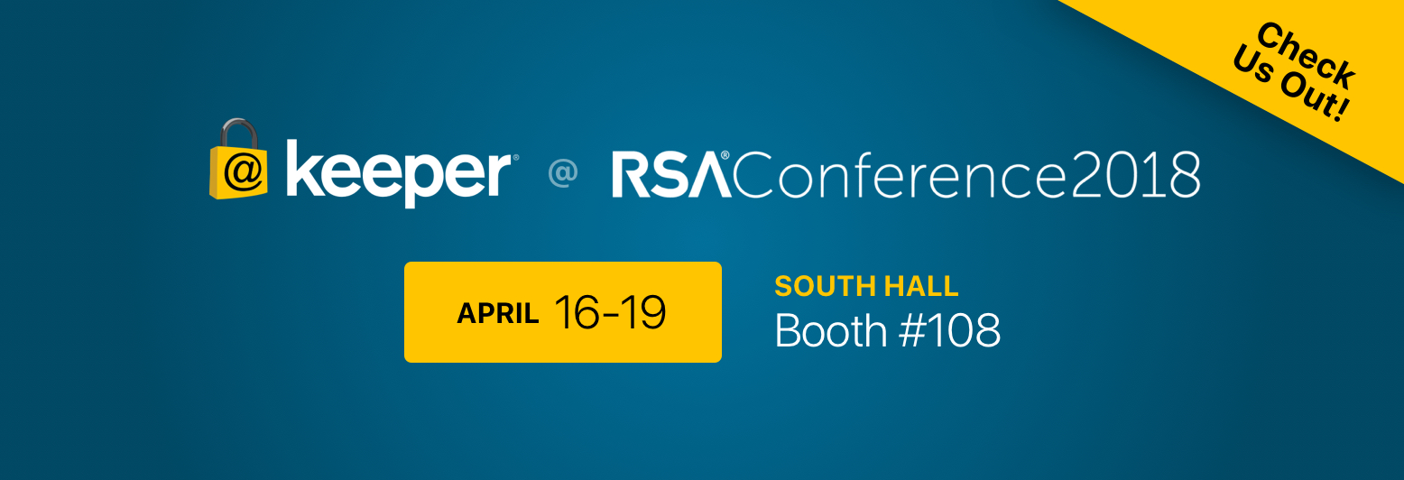 Join us at RSA 2018