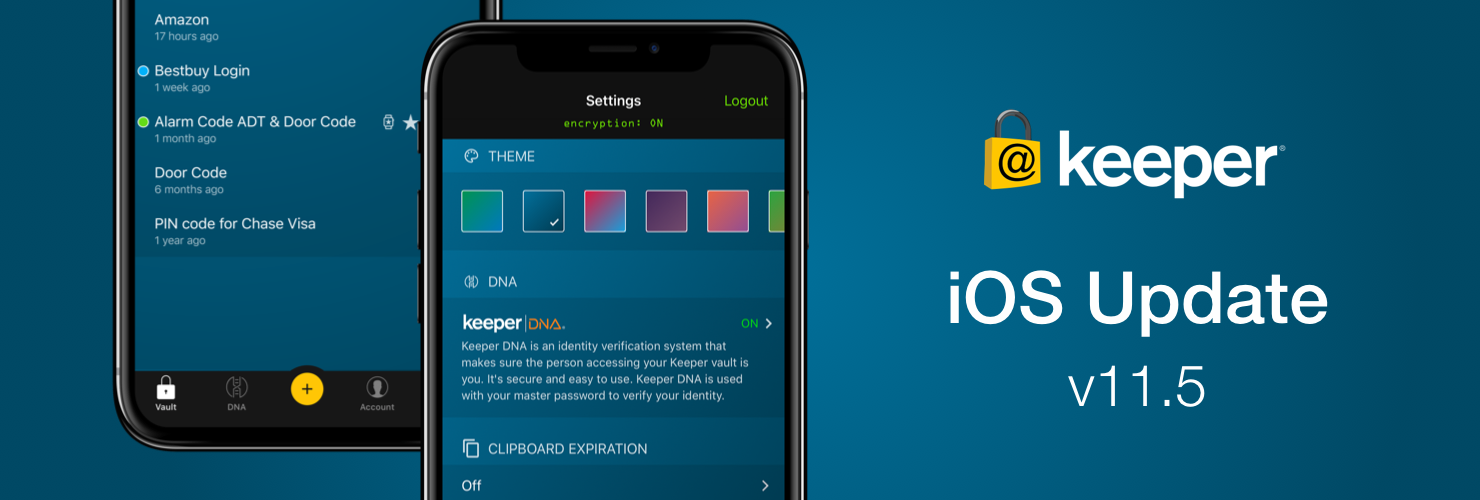 iOS Version 11.5 Update Released for Keeper Password Manager