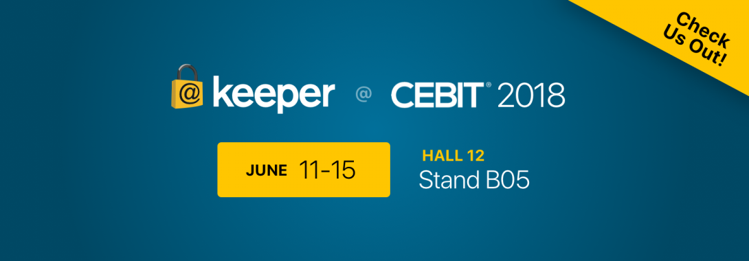 Visit us at CEBIT 2018