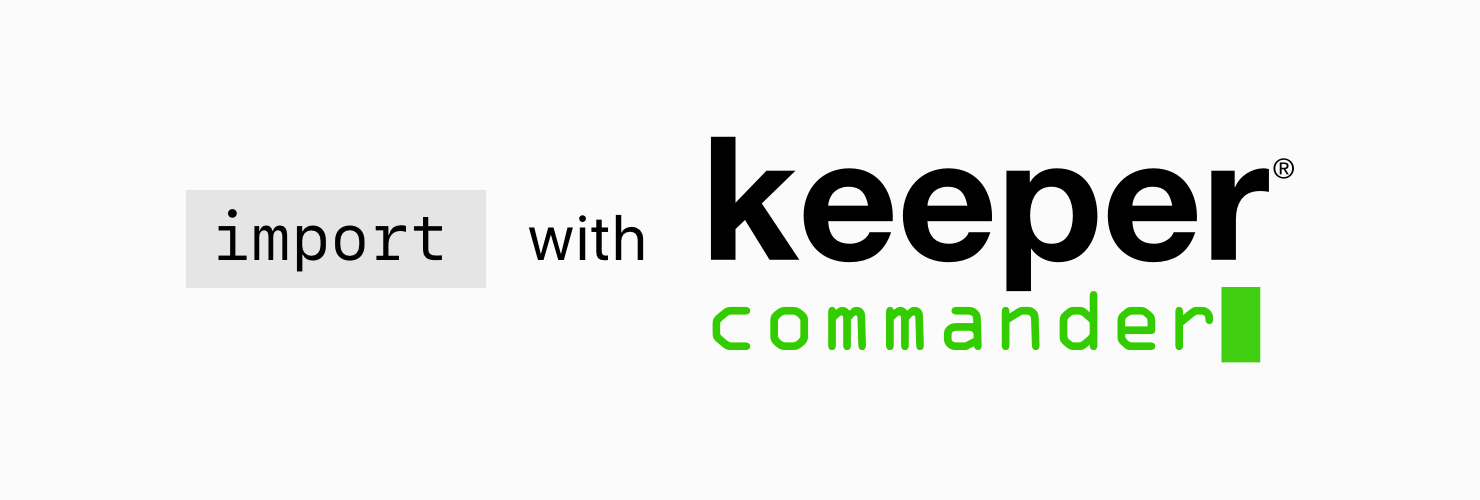 How to Migrate from Keepass to Keeper