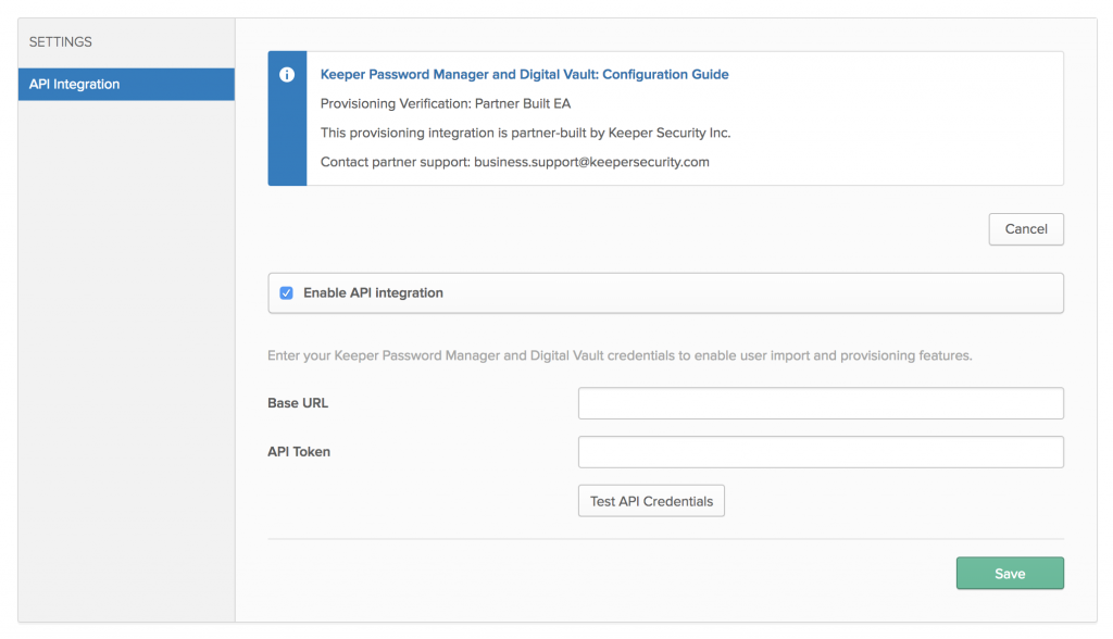 Announcing Automated API Provisioning with Okta and SCIM - Keeper Blog