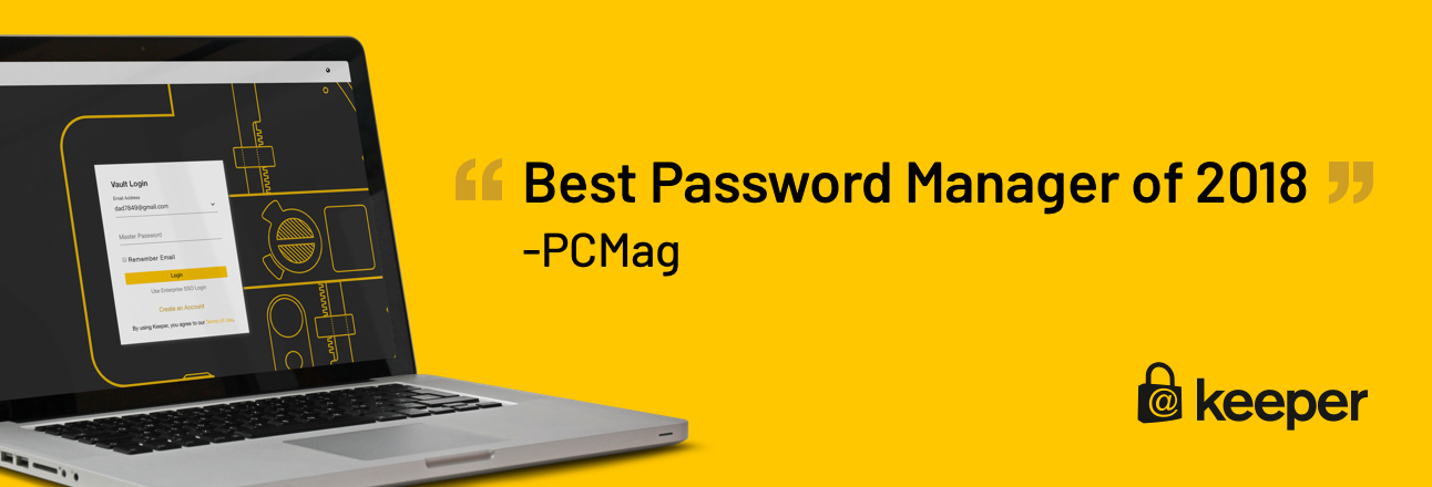 Keeper Named Best Password Manager of 2018 by PCMag