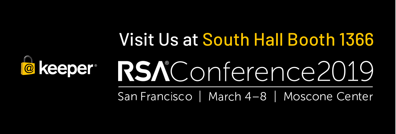 Join Keeper at RSA Conference 2019 – March 4th