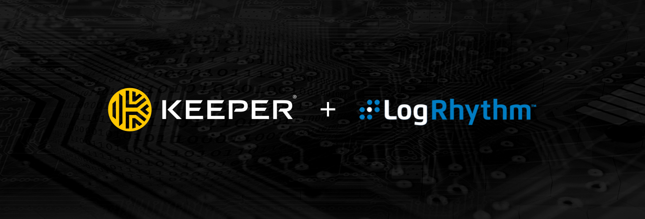 Keeper Partners with LogRhythm to Offer Integrated Password Security & Enterprise Security Monitoring